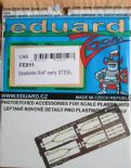 EDFE811 1/48 Seatbelts RAF Early Steel
